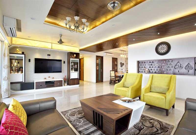 3bhk Home Design Interior Designer In Koregaon Park Pune Alacritys