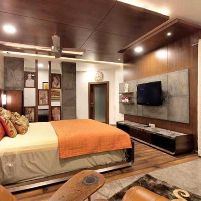 High-end-master-bedroom-tv-unit