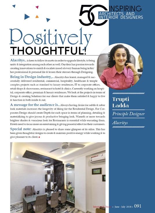 Architect & Interior Design Magazine