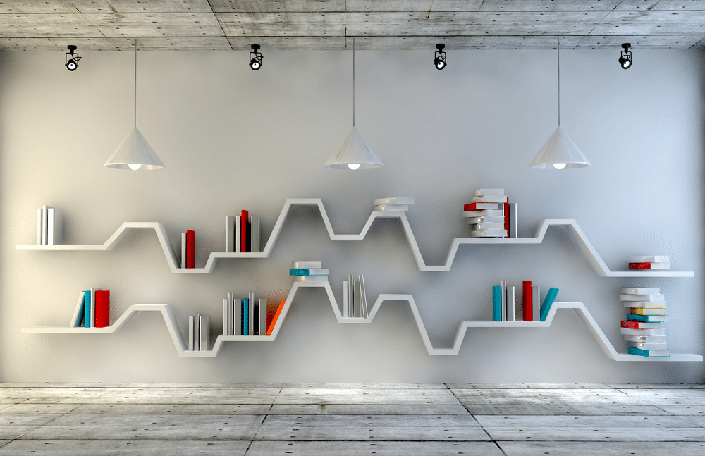 Office Bookshelf Design